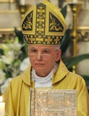 Apostolic Nunciature to Bosnia and Herzegovina - Image: Alessandro D'Errico Sarajevo 2012
