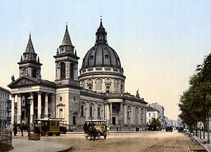 Three Crosses Square - St. Alexander's Church ca. 1900