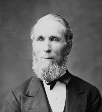 Canadian federal election, 1874 - Image: Alexander Mackenzie portrait