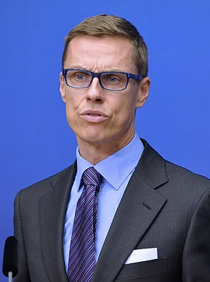 Finnish parliamentary election, 2015 - Alexander Stubb