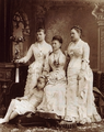 Alexandra Iosifovna with her daughter and granddaughters.png