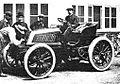 Alfred Levegh vainqueur de Paris-Toulouse-Paris 1900 sur Mors à pneus Michelin.jpg