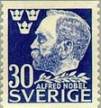 Alfred Nobel 1946 Sweden stamp 30 ore.jpg