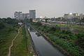 Alipore Drain - New Alipore Railway Station Area - Kolkata 2015-10-10 6473.JPG