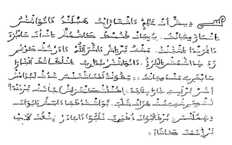 Muladi - Aljamiado text in 16th century