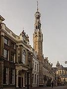Alkmaar, toren van het stadhuis RM7282 foto5 2014-12-26 11.41