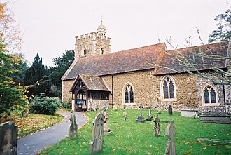 Binfield - Image: All Saints, Binfield geograph.org.uk 76363