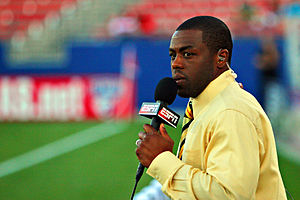 Allen Hopkins, sports commentator for ESPN