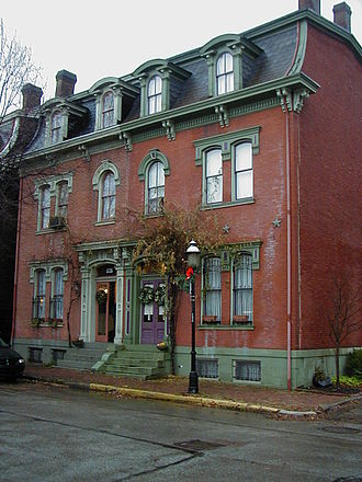 North Side (Pittsburgh) - Victorian houses in Allegheny West