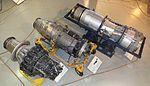 Allison J33, Wright J65, Rolls-Royce Olympus Keski-Suomen ilmailumuseo.JPG