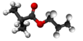 Allyl isobutyrate3D.png