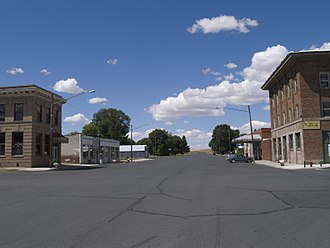 Almira, Washington - Downtown Almira in 2008