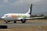 Aloha Air Cargo Boeing 737-330(SF) at Honolulu.jpg