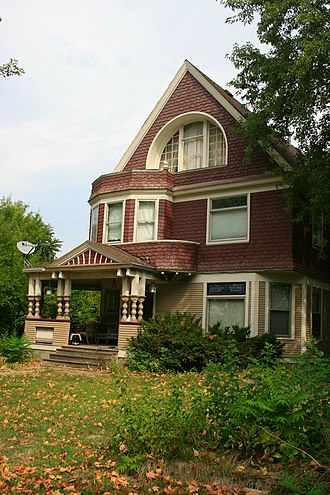 National Register of Historic Places listings in Boone County, Iowa - Image: Alonzo Barkley House