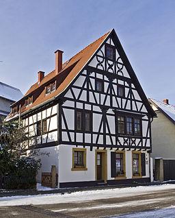 Altrip Ältestes Haus 20101218