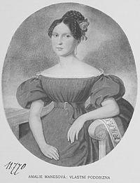 Amalie Manesova 1837.jpg