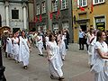 Amber Parade and preparation to common panoramic photo during III World Gdańsk Reunion - 01.jpg