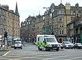 Ambulance in Home Street, Tollcross - geograph.org.uk - 1322043.jpg
