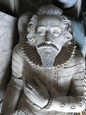 Amyas Bampfylde - Effigy of Sir Amyas Bampfylde, North Molton Church
