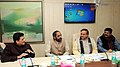 Ananthkumar along with the Minister of State (Independent Charge) for Petroleum and Natural Gas, Shri Dharmendra Pradhan, the Minister of State (Independent Charge) for Power, Coal and New and Renewable Energy.jpg