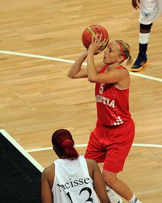 Croatia at the 2012 Summer Olympics - Anđa Jelavić at the 2012 London Olympics