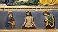 Andrea della robbia e bottega, madonna della misericordia, 1490-1510 ca., predella 02 pietà coi dolenti.jpg
