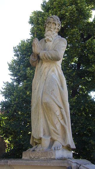Statue av St Zorard i bispedømmet Nitra