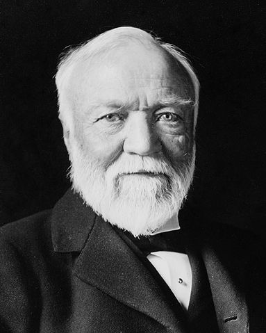 File Andrew Carnegie Three Quarter Length Portrait Seated Facing Slightly Left 1913 Crop Jpg