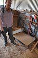 Andy Mabbett with weighing machine from Birmingham.jpg