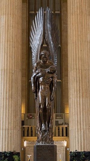 Pennsylvania Railroad World War II Memorial - Image: Angel of the Resurrection
