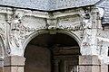 Angle nord-ouest du cloître de l'ancienne abbaye saint Melaine, Rennes, France.jpg