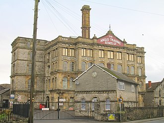 Shepton Mallet - The former Anglo-Bavarian Brewery