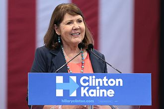 Ann Kirkpatrick - Kirkpatrick speaking in support of Hillary Clinton at a campaign rally in October 2016.
