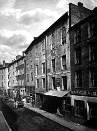 North Street (Boston) - Ann Street, Boston, 1881