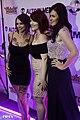Anna Bell Peaks, Ramona Flour and German Flavor at Inked Awards 2015 (22905205084).jpg