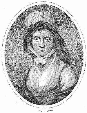 Anna Seward - Anna Seward, engraving 1799