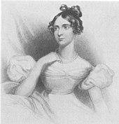 Annabella Milbanke, anonyme Zeichnung (um 1813) (Quelle: Wikimedia)