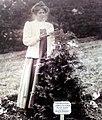 Annie Kenney planting her own tree in Annie's Arboretum.jpg