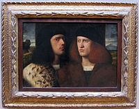 Anonimo veneziano, ritratto di due giovani, 1510 ca..JPG
