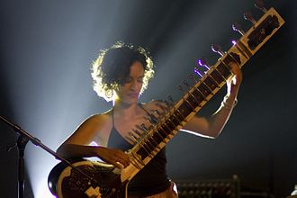 The Inner Light (song) - Sitarist Anoushka Shankar (pictured in 2007) performed the song with Jeff Lynne at the Concert for George in November 2002.