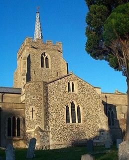 Anstey, Hertfordshire village and civil parish in the East Hertfordshire, England