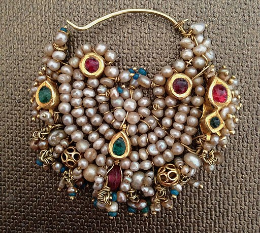 Antique Indian Nose Ring Jewellery