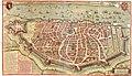 Antverpia - Kaart van Antwerpen - Map of Antwerp - met gedichten van Daniel Rogers en Julius Scaliger.jpg