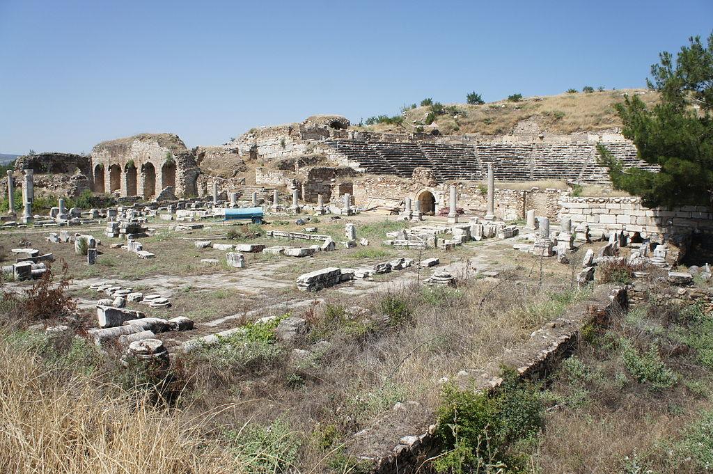 Die ägäische Küste der Türkei Afrodisias Türkei