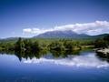 Appalachian Trail and view of Mount Katahdin, Maine LCCN2011630252.tif