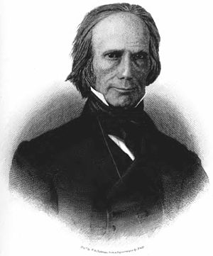 "Joseph Desha - Henry Clay, leader of the House ""War Hawks"""