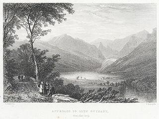 Approach To Llyn Gwynant, from Capel Curig