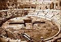 Arènes de Nîmes fouilles de 1866.jpg
