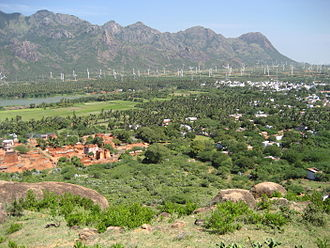 Nagercoil - Wind farm in Muppandal and Aralvaimozhi region near Nagercoil