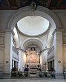 Arch and altar of San Sebastiano fuori le mura (Rome).jpg